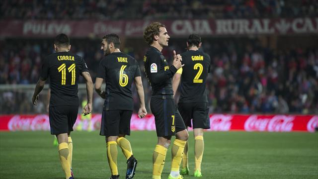 Atlético se mantiene con Griezmann