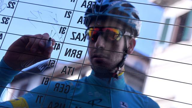 Fabio Aru si ritira dalla Tirreno-Adriatico per tracheobronchite