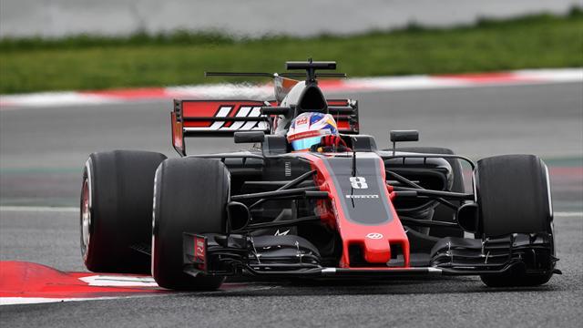 """Grosjean : """"Je n'ai pas à me plaindre d'avoir un V6 Ferrari à l'arrière de ma monoplace"""""""