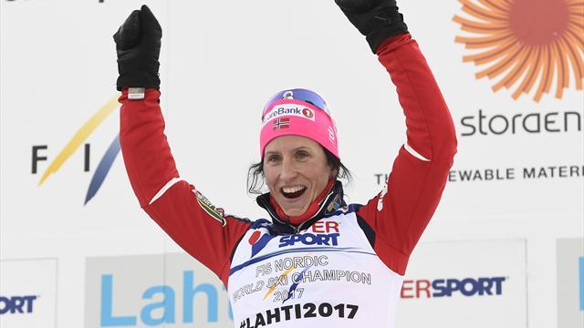 Björgen deklassiert Konkurrenz über 30 Kilometer