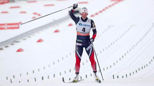 Bjoergen cruises to World Cup win in Oslo