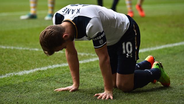 Ligaments de la cheville droite touchés pour Harry Kane (Tottenham)