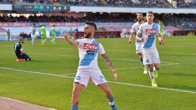 Serie A: Napoli campione d'inverno, contro il Crotone basta Hamsik