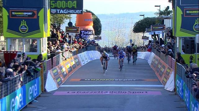 So macht Sagan den Sieg auf der 5. Etappe perfekt