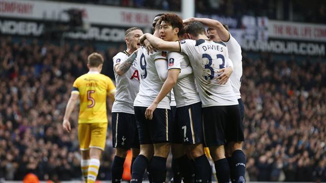 Son scores hat-trick, Janssen ends goal wait as Spurs hammer Millwall