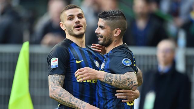 Derrière la Juve, l'Inter, Naples et la Roma ne lâchent rien