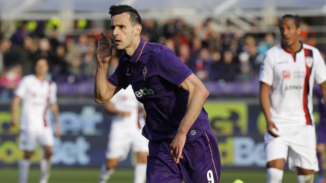 E' una Fiorentina da zona Cesarini: ancora Kalinic al 90' e Crotone ko