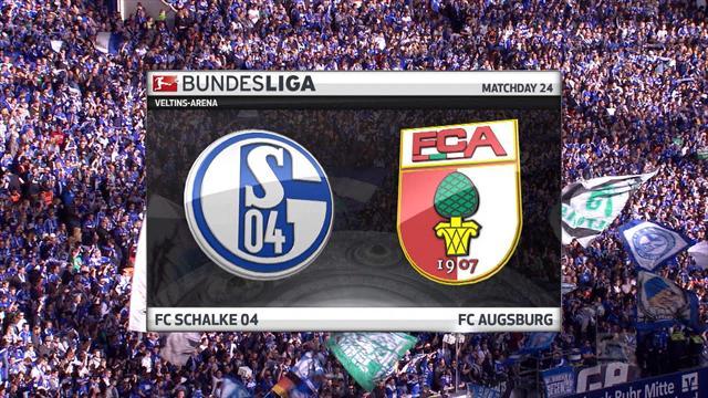 Høydepunkter: FC Schalke 04 v FC Augsburg