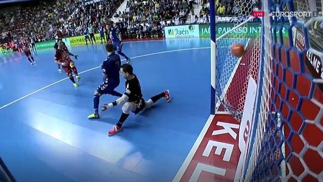 Copa de España, ElPozo-Movistar Inter: Cardinal firma el tercer gol y remonta a los azules