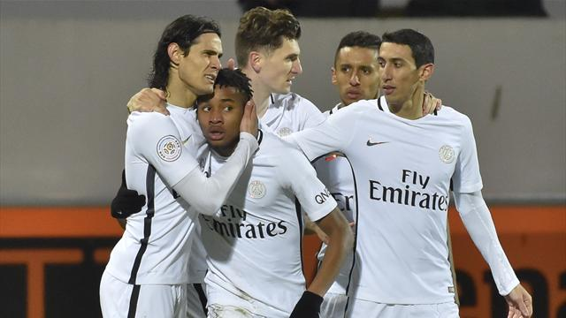 PSG begin recovery from Barca defeat with win at Lorient
