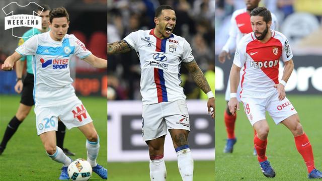 Thauvin, Depay, Moutinho… Votez pour le meilleur joueur de la 29e journée de Ligue 1