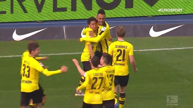 Top 5 Bundesliga goals: Aubameyang rounds off silky team move