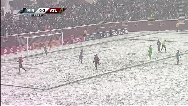 Atlanta n'a pas été arrêté par la neige