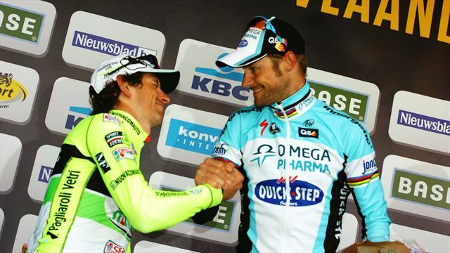 """Pozzato : """"Je préfère être deuxième derrière un grand champion..."""""""