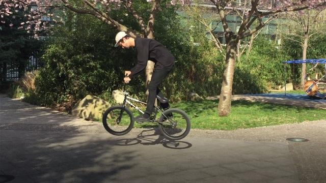 Live Facebook avec Matthias Dandois : le quintuple champion du monde de BMX flat a régalé