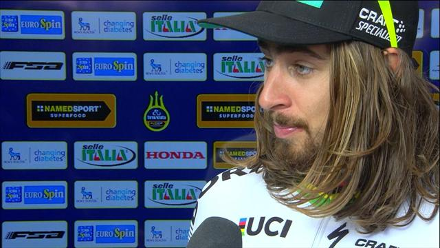 """""""Funny!"""" - Sagan über den Fast-Crash im Zeitfahren"""
