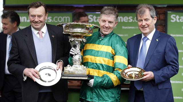Record sixth Champion Hurdle for trainer Henderson at Cheltenham