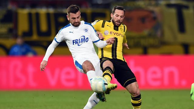 Dortmund rejoint le Bayern en demi-finales