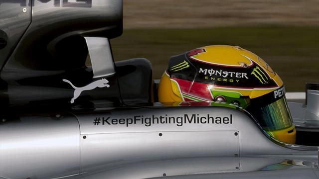 Warum der neue Mercedes keine Schumacher-Logos trägt
