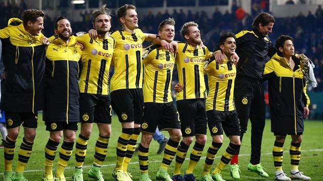 Sportfreunde Lotte 0 Borussia Dortmund 3: Tuchel's side set up Bayern semi