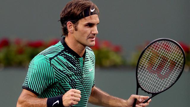 Del Potro, Thiem et Wawrinka sur la route floridienne de Federer
