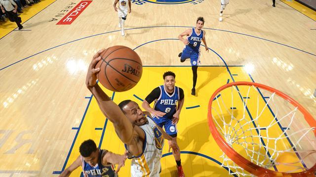 I risultati della notte: Golden State torna a vincere, triple doppie per LeBron e Westbrook