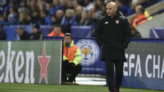 Sampaoli blames Sevilla's freefall on lack of mental strength