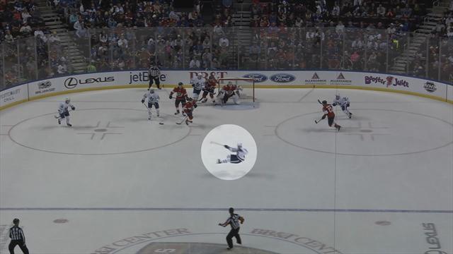 Гол Сошникова и курьезный шлепок Зайцева в унизительном для «Торонто» матче с «Флоридой»