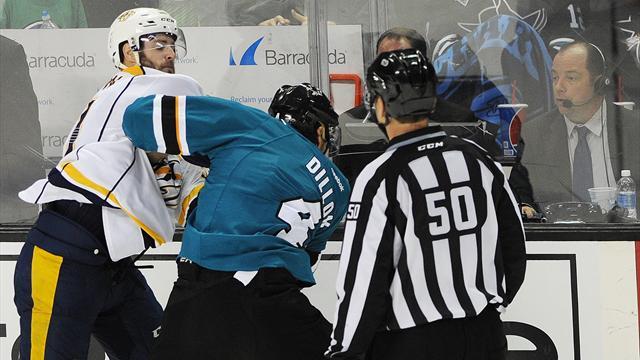«Нам надо поработать над дыхалкой летом». О чем говорят игроки НХЛ после драки