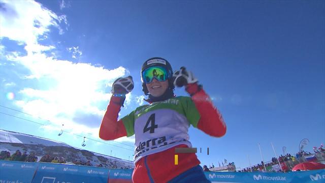 Ulbing beats Ledecka to seal ladies' parallel slalom title