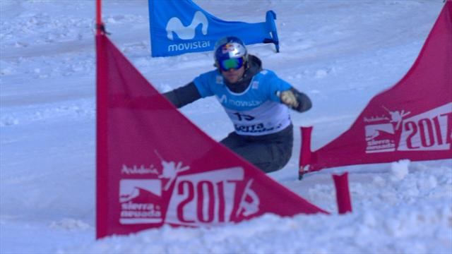 Prommegger clinches parallel snowboarding world title with win over Karl