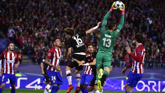 Champions League (Octavos), Atleti-Leverkusen: San Oblak y a cuartos (0-0, global 4-2)