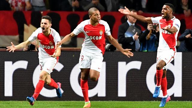 «Монако» обыграл «Манчестер Сити» и вышел в 1/4 финала