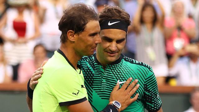 Федерер уничтожил Надаля и вышел в четвертьфинал