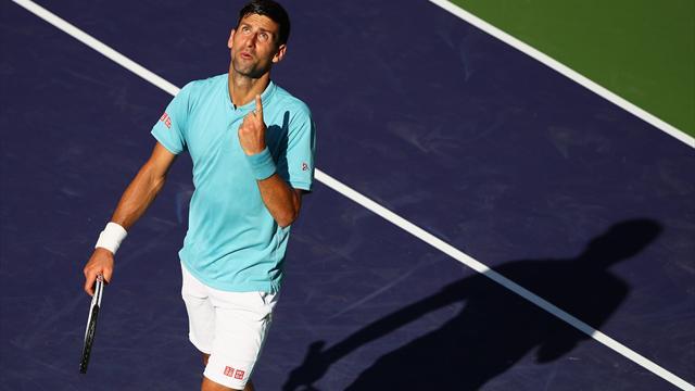 Djokovic og Nadal slått ut av Indian Wells