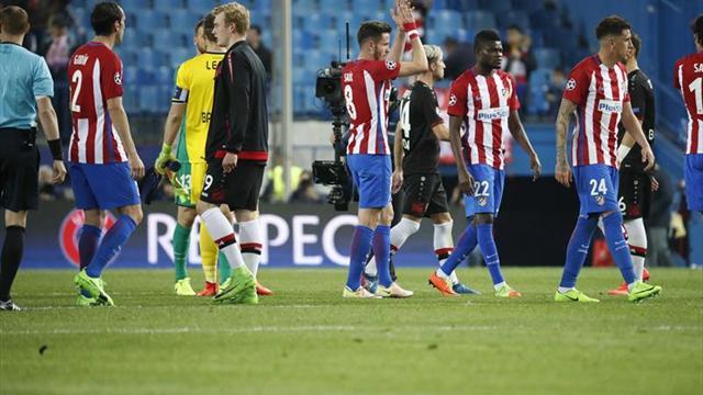 El Atlético, instalado en la élite de Europa por insistencia y sacrificio