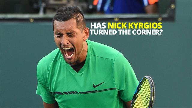Has Nick Kyrgios finally tamed his demons?