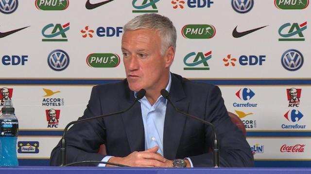 """Deschamps : """"Mbappé ? Le talent n'a pas d'âge"""""""