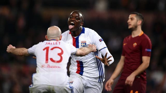 2 minutes de folie à Rome : Diakhaby ouvre le score de la tête, Strootman égalise dans la foulée