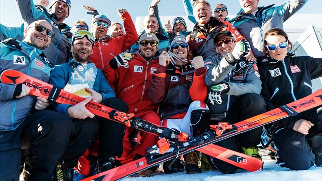 Hirscher en tête après la 1re manche duy slalom d'Aspen — Ski