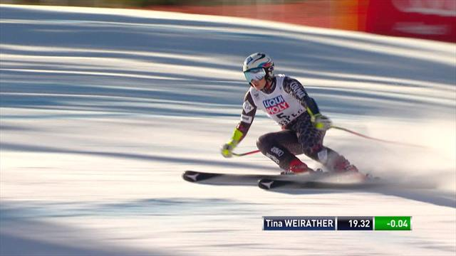 Weirather crowned overall Super G champion in Aspen