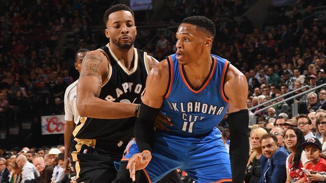 Westbrook'tan sezonun 34. triple-double'ı