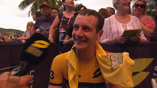 Alistair Brownlee on disastrous run in Hamilton Island: 'I got a stitch!'