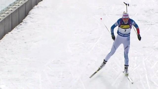 Biathlon: Laukkanen macht Rennen ihres Lebens