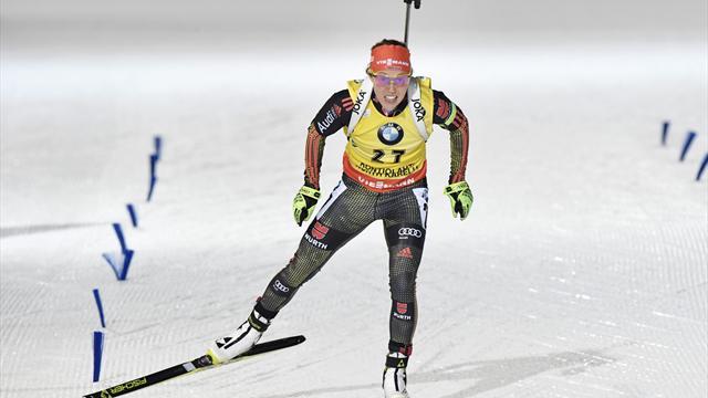 Biathlon: Dahlmeier verpasst kleine Kristallkugel im Sprint