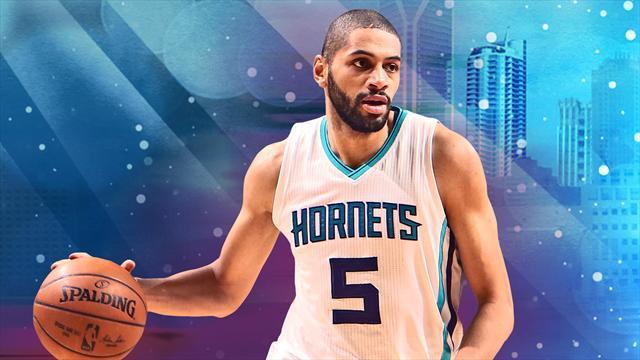 NBA: Batum (Charlotte) en proie à des migraines à nouveau absent
