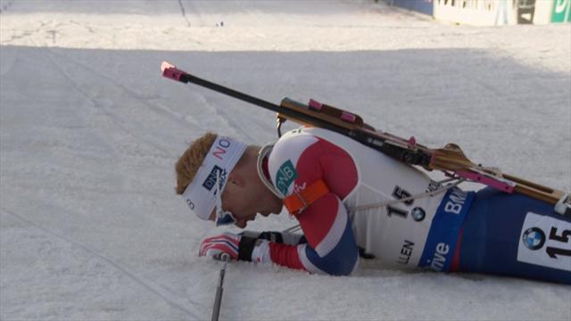 Biathlon: Norweger Bö gewinnt 10-km-Sprint