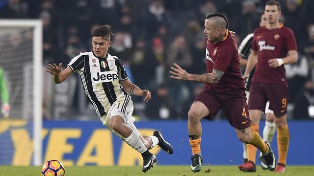 Serie A, Roma - Juventus 3-1. I bianconeri rimandano la festa Scudetto