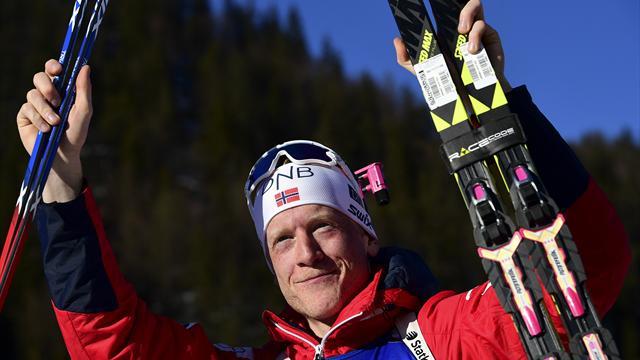 Boe beats Fourcade to sprint success in Oslo