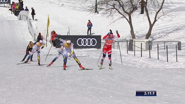Langlauf: Schwedin Nilsson sprintet zum Sieg